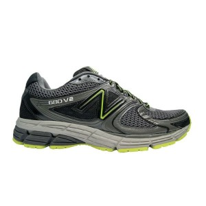 נעלי הליכה ניו באלאנס לגברים New Balance M680 V2 - שחור/ירוק