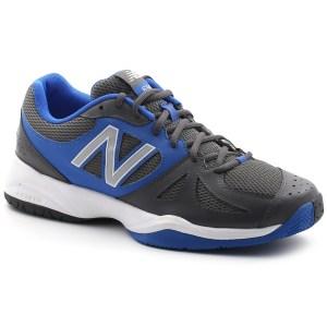 נעלי טניס ניו באלאנס לגברים New Balance MC696 - אפור