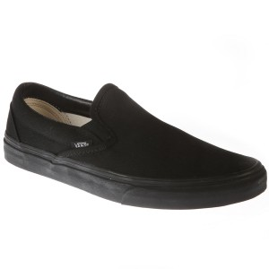 נעלי סניקרס ואנס לגברים Vans Classic Slip-On - שחור מלא