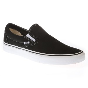 נעליים ואנס לנשים Vans Classic Slip-On - שחור