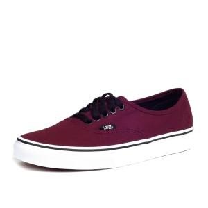 נעלי סניקרס ואנס לגברים Vans Authentic - בורדו