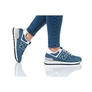 נעלי הליכה ניו באלאנס לנשים New Balance WL574 - טורקיז
