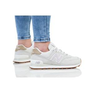 נעלי הליכה ניו באלאנס לנשים New Balance WL574 - לבן