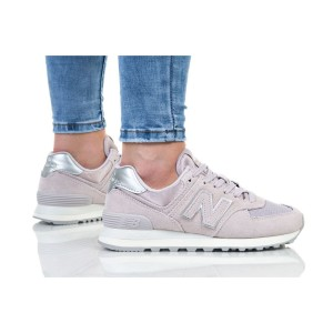 נעלי הליכה ניו באלאנס לנשים New Balance WL574 - סגול בהיר