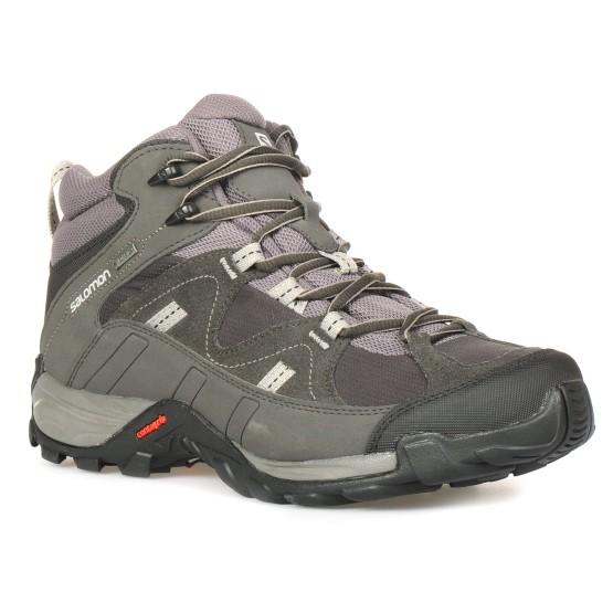נעלי הליכה סלומון לגברים Salomon Manila Mid GTX - אפור a3e0d9c98f