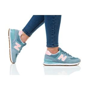 נעלי הליכה ניו באלאנס לנשים New Balance WL574 - כחול/ירוק
