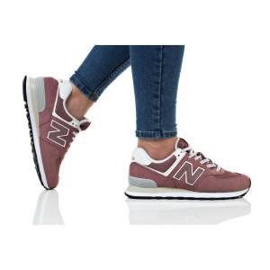 נעלי הליכה ניו באלאנס לנשים New Balance WL574 - בורדו