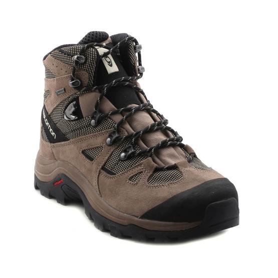 נעלי הליכה סלומון לגברים Salomon Discovery GTX - חום בהיר