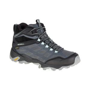 נעלי הליכה מירל לנשים Merrell  Moab Mid GTX - שחור/אפור