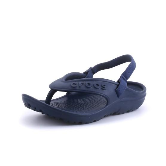 מוצרי Crocs לילדים Crocs Hilo Flip K - כחול כהה