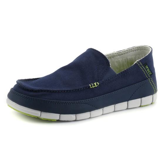 מוצרי Crocs לגברים Crocs  Stretch Sole Loafer M - כחול