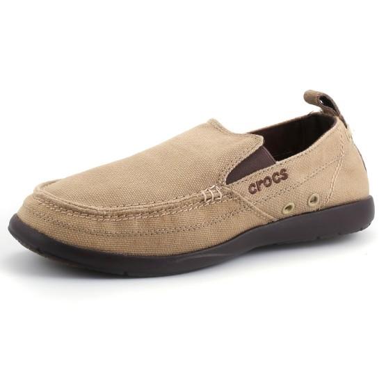 מוצרי Crocs לגברים Crocs Walu - חאקי