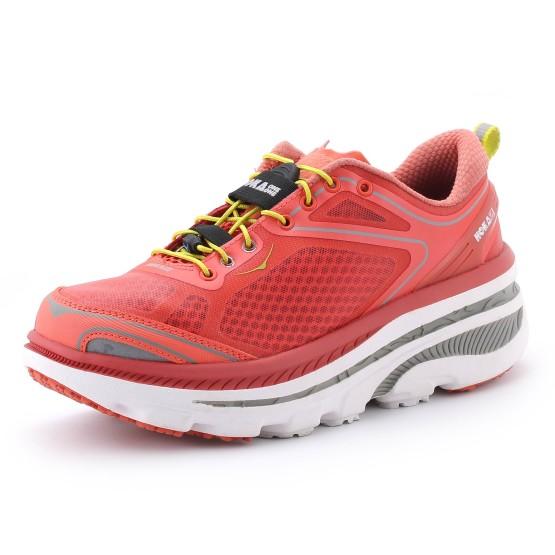 נעלי הליכה הוקה לנשים Hoka One One Bondi 3 EVO - אפרסק