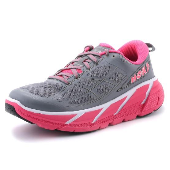 נעליים הוקה לנשים Hoka One One Clifton 2 - אפור