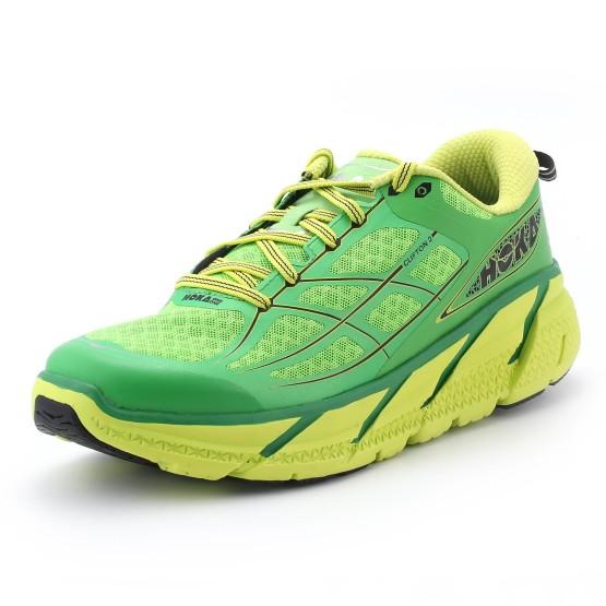 נעליים הוקה לגברים Hoka One One  Clifton 2 - ירוק
