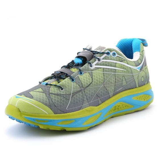 נעליים הוקה לגברים Hoka One One Huaka S - אפור/ירוק