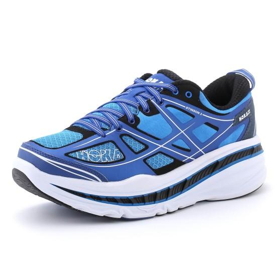 נעלי הליכה הוקה לגברים Hoka One One  Stinson 3 - כחול
