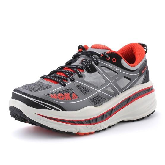 נעליים הוקה לגברים Hoka One One Stinson ATR - אפור