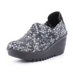 נעלי נוחות ברני מב לנשים Bernie Mev  Gem - שחור/לבן