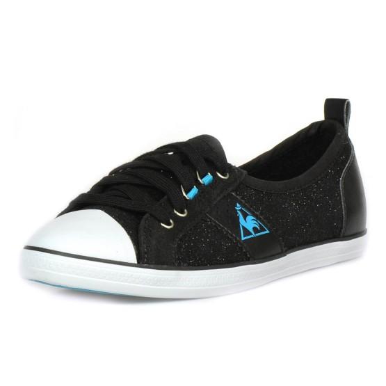 נעלי הליכה לה קוק ספורטיף לנשים Le Coq Sportif Lorette Metallic Jersey - שחור