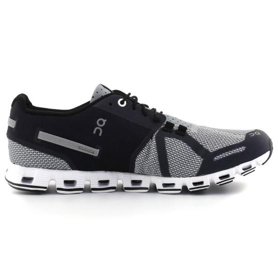 נעלי הליכה און לגברים On  Cloud - שחור/אפור