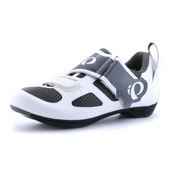 נעליים פרל איזומי לנשים Pearl Izumi Tri Fly - שחור/לבן