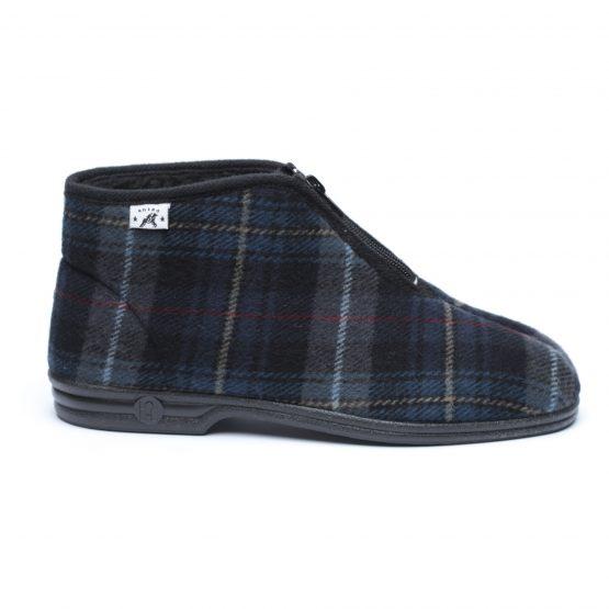 נעלי בית דפנה לגברים Dafna Noam - כחול כהה