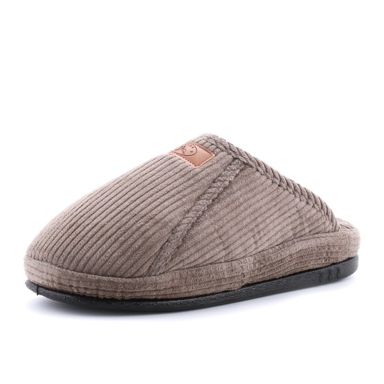 נעלי בית טבע נאות לגברים Teva naot Goren - אפור