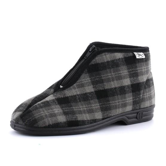 נעלי בית דפנה לגברים Dafna Noam - אפור