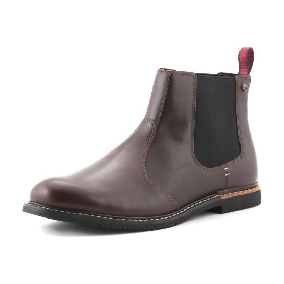 נעליים אלגנטיות טימברלנד לגברים Timberland  Brook Park Chelsea - חום