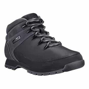 נעלי הליכה טימברלנד לגברים Timberland Euro Sprint Hiker - לבן/שחור
