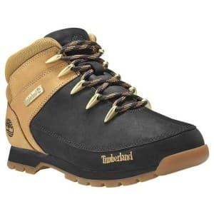 נעלי הליכה טימברלנד לגברים Timberland Euro Sprint Hiker - צהוב/שחור