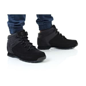 נעלי הליכה טימברלנד לגברים Timberland Euro Sprint Hiker - אפור/שחור