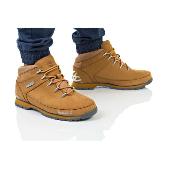 נעלי הליכה טימברלנד לגברים Timberland Euro Sprint Hiker - כתום