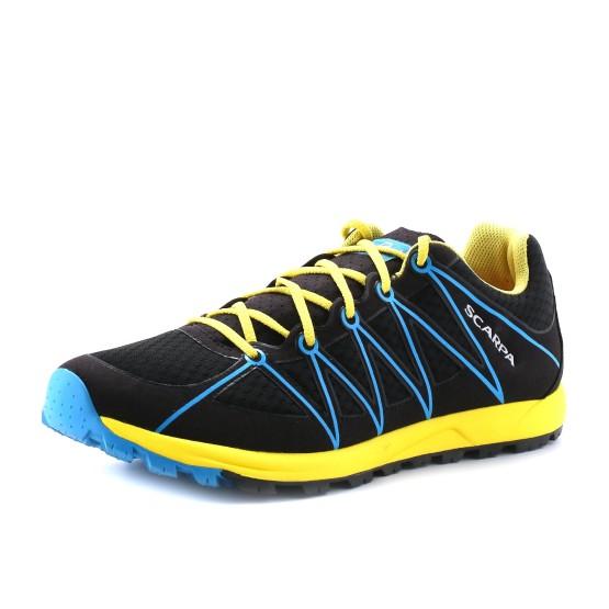 נעליים Scarpa לגברים Scarpa Minima - שחור/צהוב