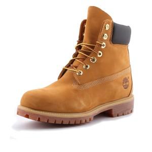 נעלי הליכה טימברלנד לגברים Timberland 6Inch Premium - חום בהיר