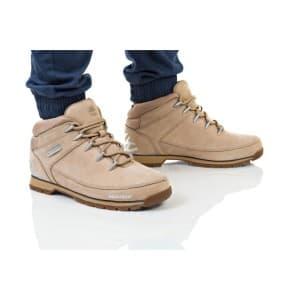 נעלי הליכה טימברלנד לגברים Timberland Euro Sprint Hiker - חום/צהוב