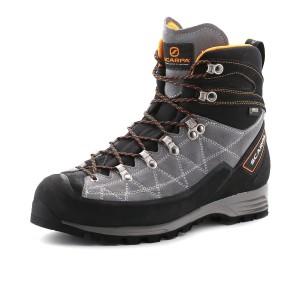 נעלי הליכה Scarpa לגברים Scarpa Revolution Pro GTX - אפור/כתום