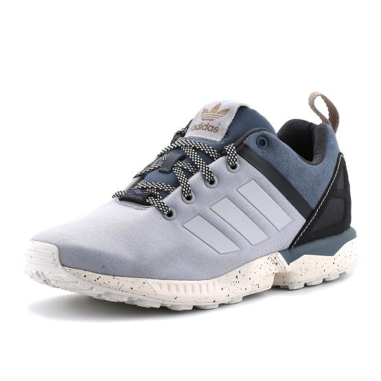 מוצרי אדידס לגברים Adidas ZX Flux Split - אפור בהיר