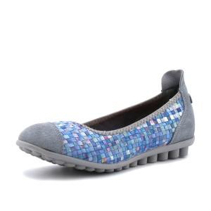 נעלי נוחות ברני מב לנשים Bernie Mev Bella Me - צבעוני/לבן