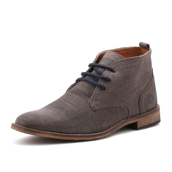 נעליים אלגנטיות בולבוקסר לגברים Bullboxer Harry - אפור