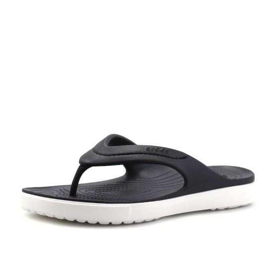 מוצרי Crocs לגברים Crocs CitiLane Flip - שחור/לבן