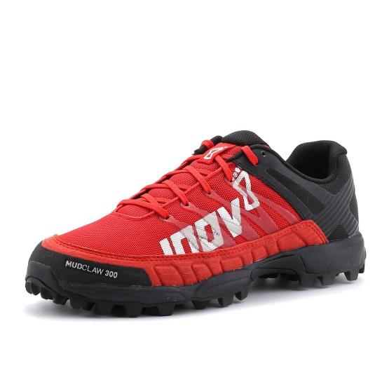 נעליים אינוב 8 לגברים Inov 8 Mudclaw 300 - שחור/אדום