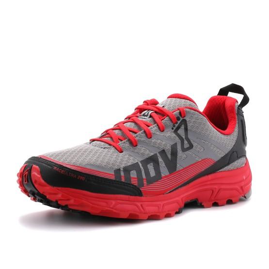 נעליים אינוב 8 לגברים Inov 8 Race Ultra 290 - אפור/אדום
