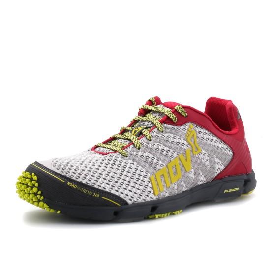 נעליים אינוב 8 לנשים Inov 8 Road-X-Treme 220 - אפור/אדום