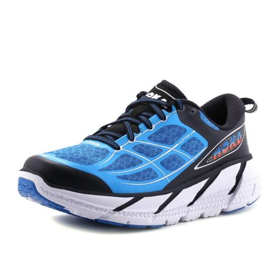 נעליים הוקה לגברים Hoka One One  Clifton 2 - שחור/כחול