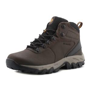 נעלי טיולים קולומביה לגברים Columbia  Newton Ridge Plus II WP - חום כהה