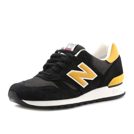 מוצרי ניו באלאנס לגברים New Balance M670v - שחור/צהוב
