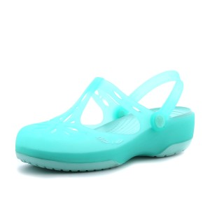 מוצרי Crocs לנשים Crocs Carlie Cutout Clog - טורקיז