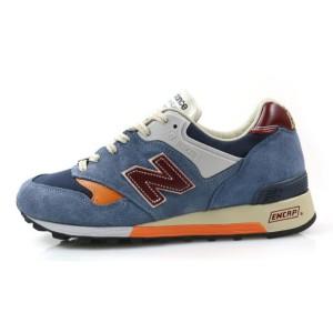 נעלי הליכה ניו באלאנס לגברים New Balance M577 - כחול/כתום